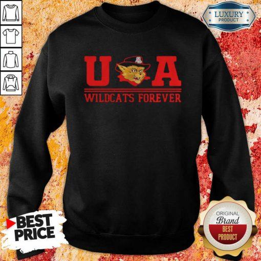 Ua Wildcats Forever Association Hat Black Sweatshirt-Design By Soyatees.com