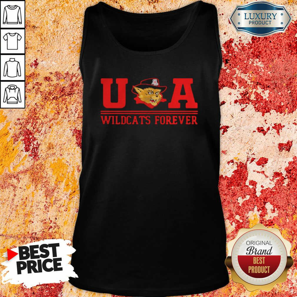 Ua Wildcats Forever Association Hat Black Tank Top-Design By Soyatees.com