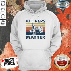 All Reps Matter Vintage Hoodie-Design By Soyatees.com