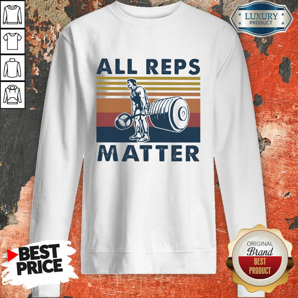 All Reps Matter Vintage Sweatshirt-Design By Soyatees.com