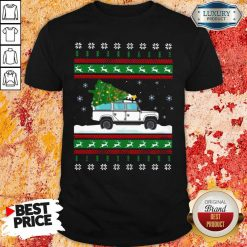 Defender Christmas Tree Ugly Shirt-Design By Soyatees.com