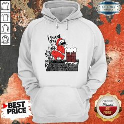 Santa Claus I Want You To Park That Big Red And Light Right On This Rooftop Christmas Hoodie-Design By Soyatees.com
