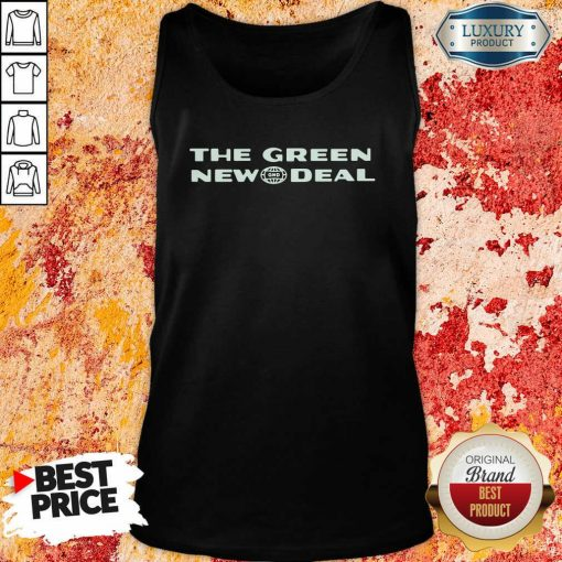 The Green New Deal Tank Top-Design By Soyatees.com