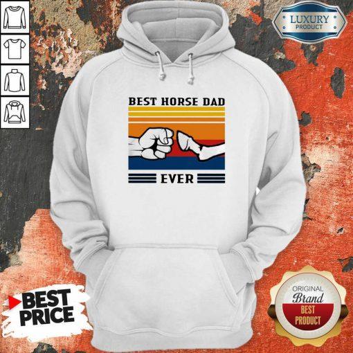 Best Horse Dad Ever Vintage Hoodie-Design By Soyatees.com