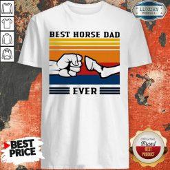 Best Horse Dad Ever Vintage Shirt-Design By Soyatees.com