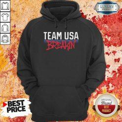 Team Usa Breaking Graffiti Hoodie-Design By Soyatees.com