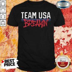 Team Usa Breaking Graffiti Shirt-Design By Soyatees.com