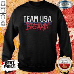 Team Usa Breaking Graffiti Sweaqtshirt-Design By Soyatees.com