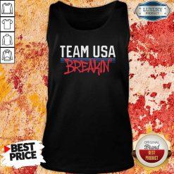 Team Usa Breaking Graffiti Tank Top-Design By Soyatees.com