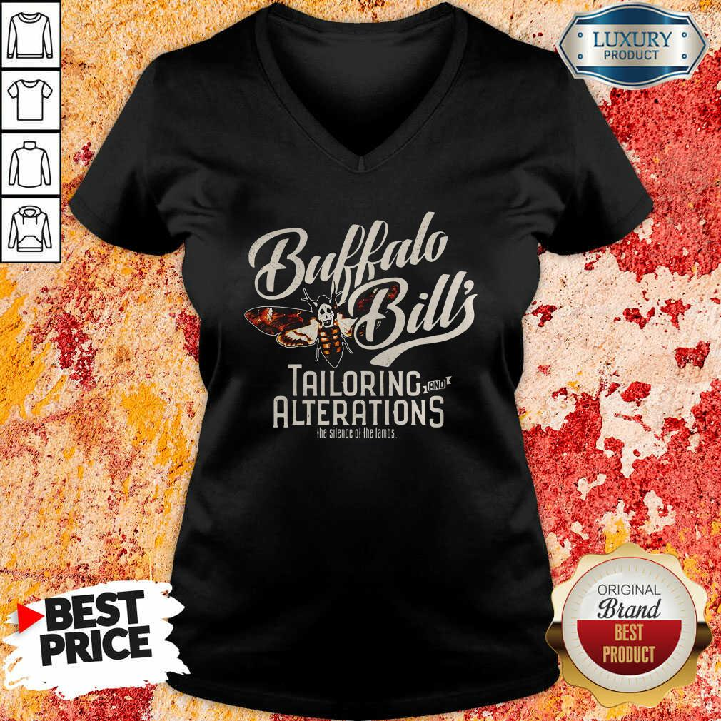 Buffalo Bill'S Tailoring And Alterations The Silence Of The Lambs Bee Funny V-neck-Design By Soyatees.com