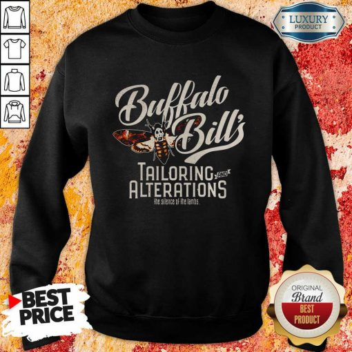 Buffalo Bill'S Tailoring And Alterations The Silence Of The Lambs Bee Funny Sweatshirt-Design By Soyatees.com