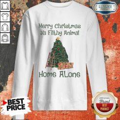 Merry Christmas Ya Filthy Animal Home Alone Christmas Tree Sweatshirt-Design By Soyatees.com