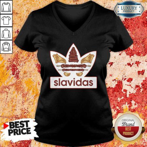 Slavidas Products V-neck-Design By Soyatees.com
