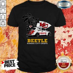 Volkswagen Beetle Kansas City Chiefs Shirt-Design By Soyatees.com
