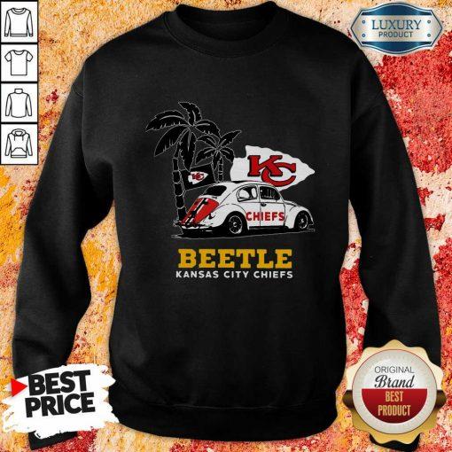 Volkswagen Beetle Kansas City Chiefs Sweatshirt-Design By Soyatees.com