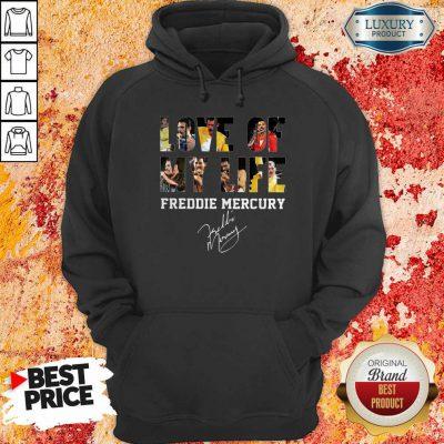 Love Of My Life Freddie Mercury Signature Hoodie-Design By Soyatees.com