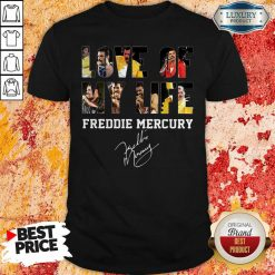 Love Of My Life Freddie Mercury Signature Shirt-Design By Soyatees.com