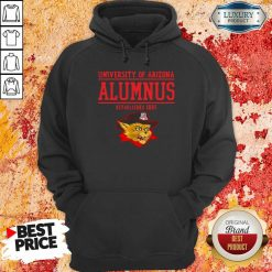 University Of Arizona Alumnus Established 1885 Hoodie-Design By Soyatees.com