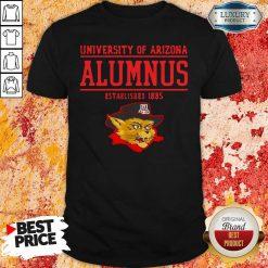 University Of Arizona Alumnus Established 1885 Shirt-Design By Soyatees.com