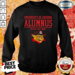 University Of Arizona Alumnus Established 1885 Sweatshirt-Design By Soyatees.com