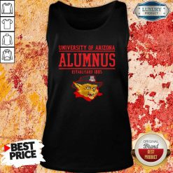 University Of Arizona Alumnus Established 1885 Tank Top-Design By Soyatees.com
