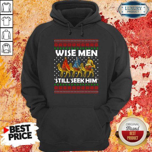 Wise Men Still Seek Him Ugly Christmas Hoodie-Design By Soyatees.com