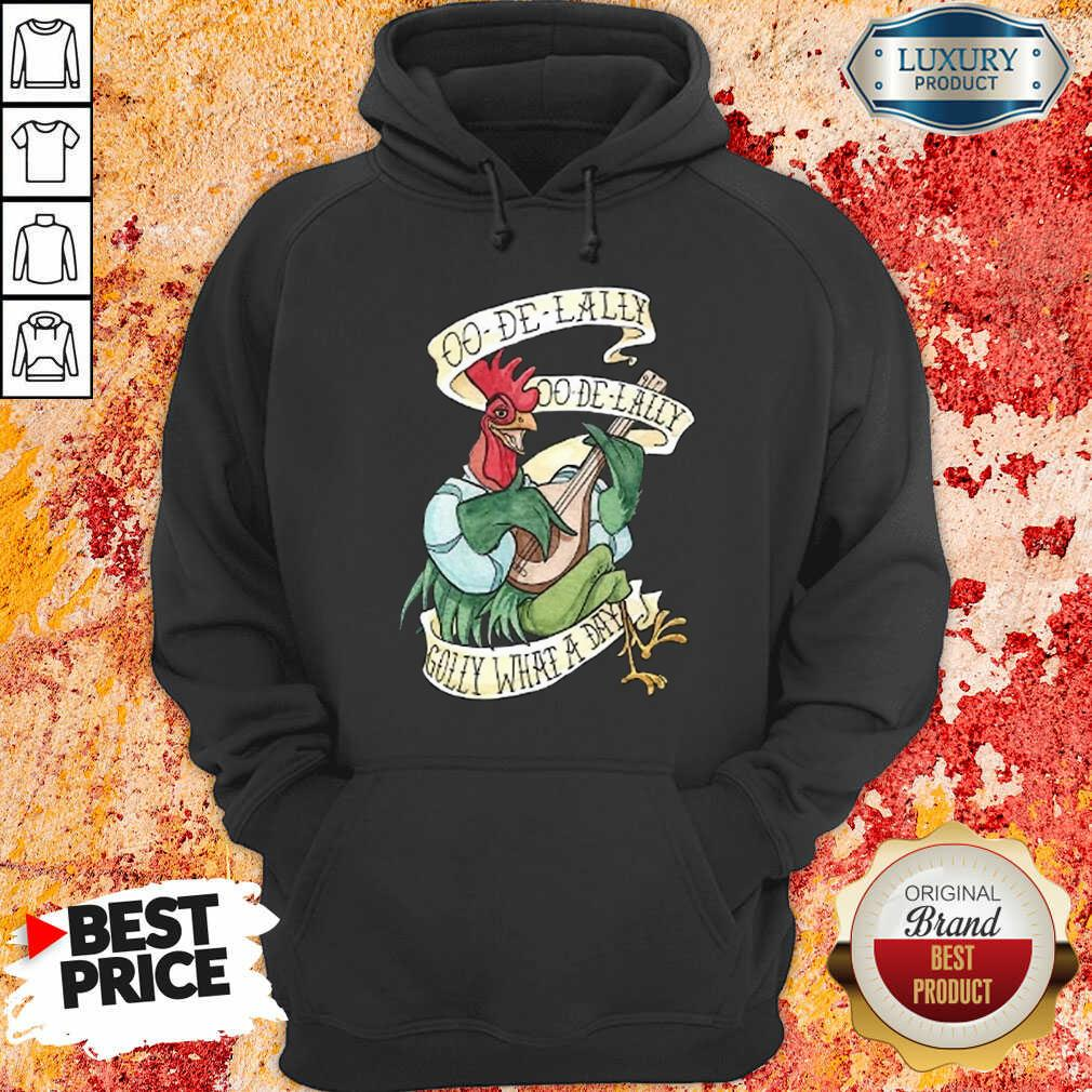 Alan A Dale Rooster Oo De Lally Golly What A Day Tattoo Robin Hood Hoodie-Design By Soyatees.com