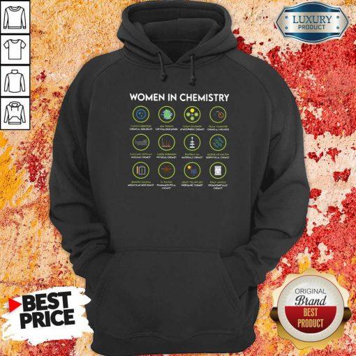 Chemist Women In Chemistry Hoodie-Design By Soyatees.com