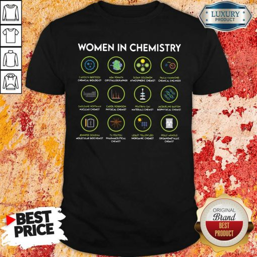Chemist Women In Chemistry Shirt-Design By Soyatees.com