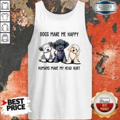 Shih Tzu Dogs Make Me Happy Humans Make My Head Hurt Tank Top-Design By Soyatees.com