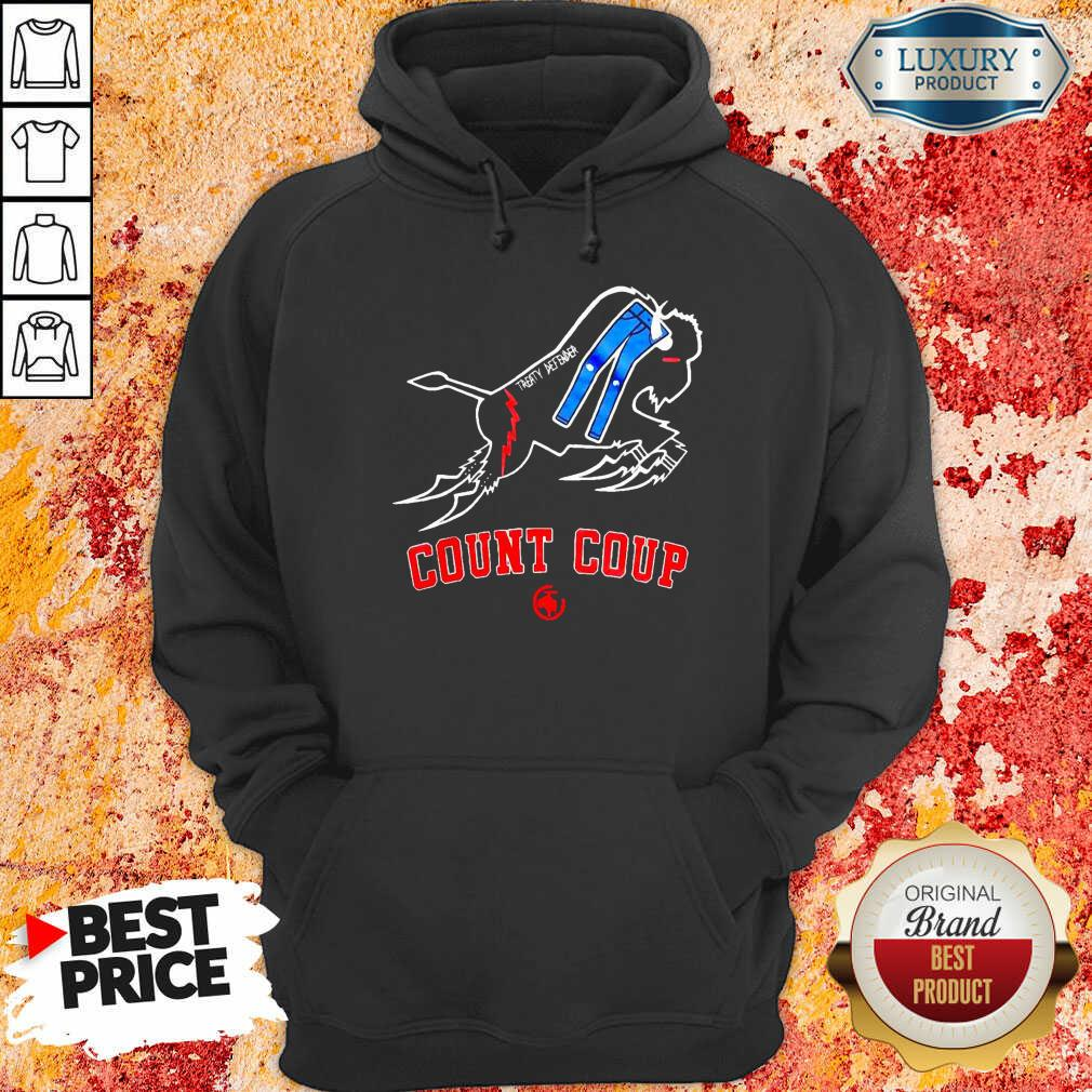 Treaty Defender Count Coup Hoodie-Design By Soyatees.com