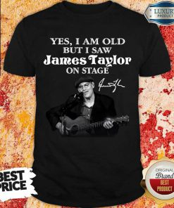 Amused 1 James Taylor On Stage Signature Shirt