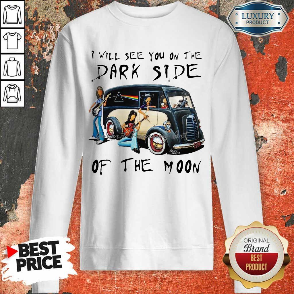 AmusedThe Dark Side Of The Moon 1 Sweatshirt