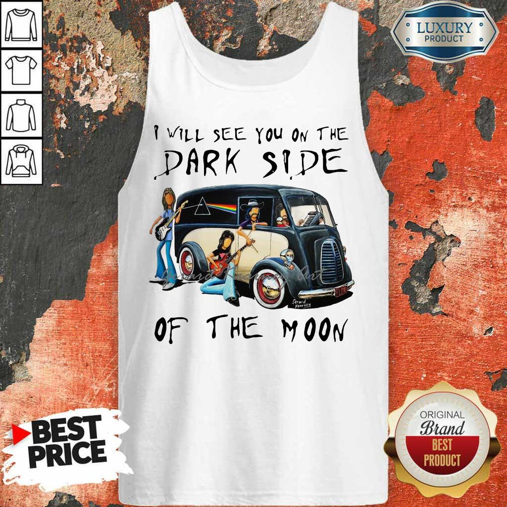 Amused The Dark Side Of The Moon 1 Tank Top