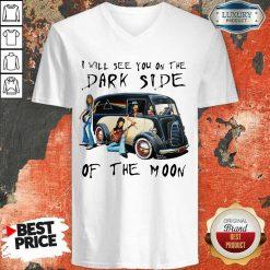 AmusedThe Dark Side Of The Moon 1 V-neck