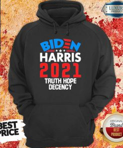 Angry Biden Harris 2021 Truth Hope Hoodie