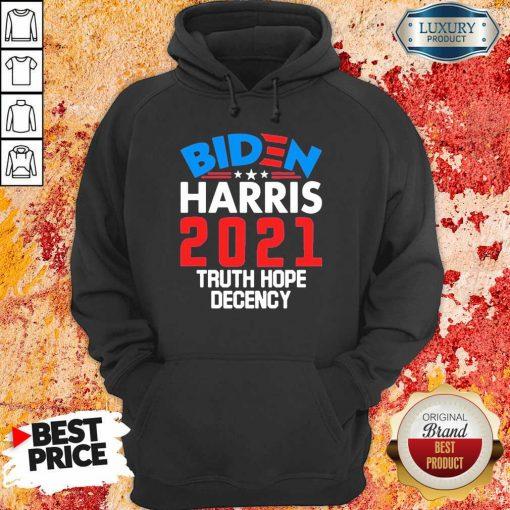 AngryBiden Harris 2021 Truth Hope Hoodie