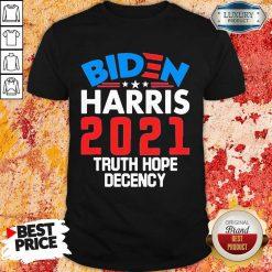 AngryBiden Harris 2021 Truth Hope Shirt