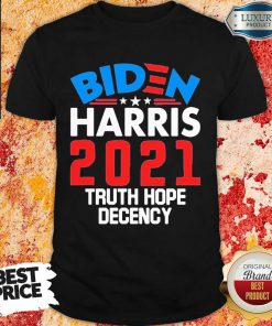 Angry Biden Harris 2021 Truth Hope Shirt