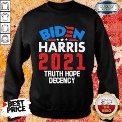 AngryBiden Harris 2021 Truth Hope Sweatshirt