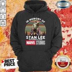 Angry Memory Of Stan Lee November 12 2018 Marvel Hoodie