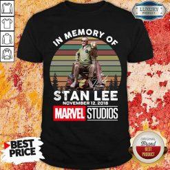Angry Memory Of Stan Lee November 12 2018 Marvel Shirt