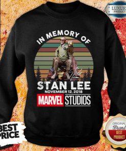 Angry Memory Of Stan Lee November 12 2018 Marvel Sweatshirt