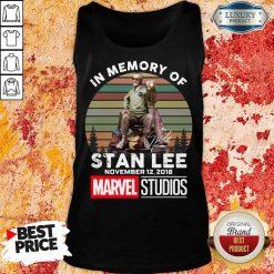 Angry Memory Of Stan Lee November 12 2018 Marvel Tank Top