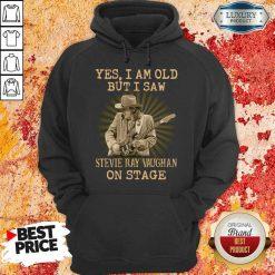 AngrySaw Stevie Ray Vaughan On Stage 1 Hoodie