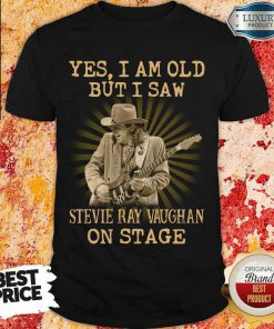 Angry Saw Stevie Ray Vaughan On Stage 1 Shirt