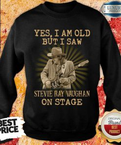 Angry Saw Stevie Ray Vaughan On Stage 1 Sweatshirt