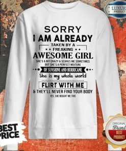Annoyed Crazy And Scares Me 1 Sometimes Sweatshirt