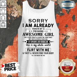 Annoyed Crazy And Scares Me 1 Sometimes Tank Top