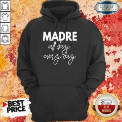 Delighted Mom Life Madre All Day 33 Every Days Hoodie - Design by Soyatees.com